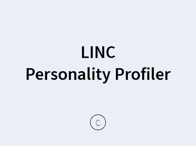 LINC Personality Profiler Persönlichkeitstest